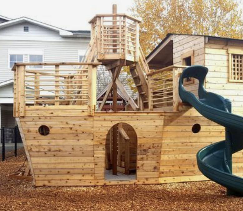 vaikų mediniai nameliai kaina